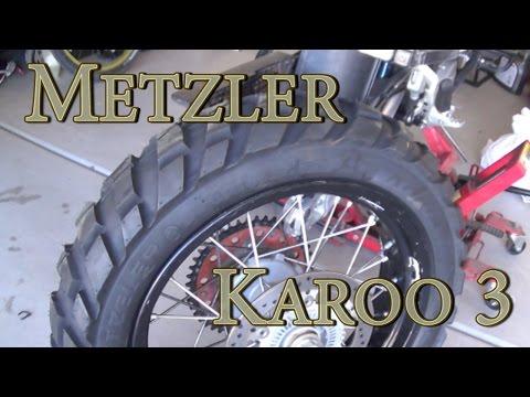 Metzler Karoo 3 Tire Review  KTM 990 ADV