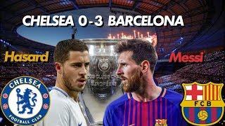 Barça 3 - 0 Chelsea :  Messi est- il Plus Grand Que Le Fc Barcelone ?