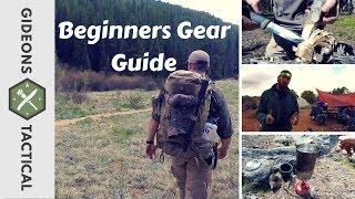 Backpackers Gear Guide For Beginners