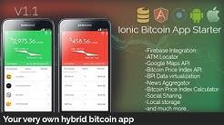 Astrothema: Ionic Bitcoin App Starter