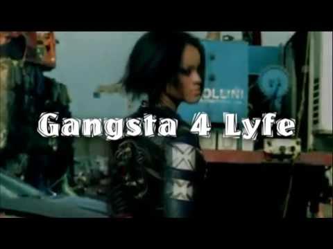 Rihanna - G4L  (Gangsta 4 Life) (Official Music Video) Tila Tequila VS Rihanna
