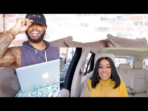 Cardi B Carpool Karaoke | Reaction