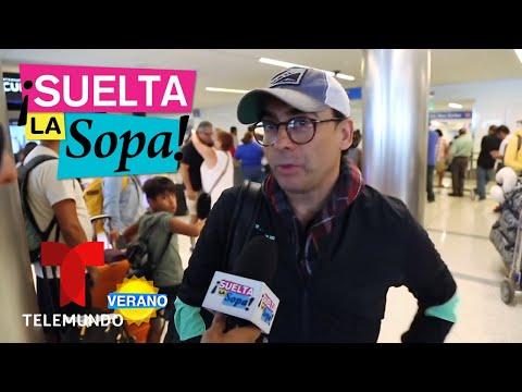 Así fue el encuentro de Adal Ramones y Diego Luna  Suelta La Sopa  Entretenimiento