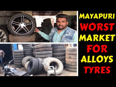 NEVER BUY ALLOY AND TYRES FROM MAYAPURI | CAR MODIFICATION | ALLOY | Rahul Singh
