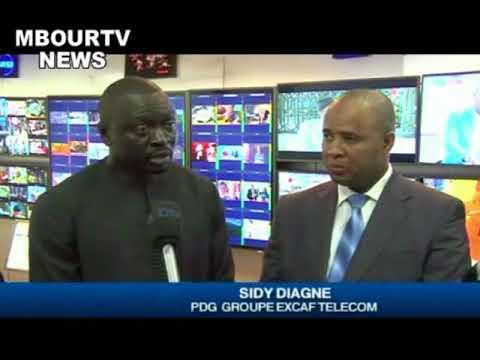 TNT AU SENEGAL EXCAF TELECOM CABLE LE PAYS PAYS A 90%