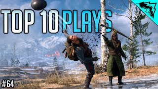 BF1 TOP 10 PLAYS - Battlefield 1 SNIPING Gameplay Highlights (Bonus Plays #64)