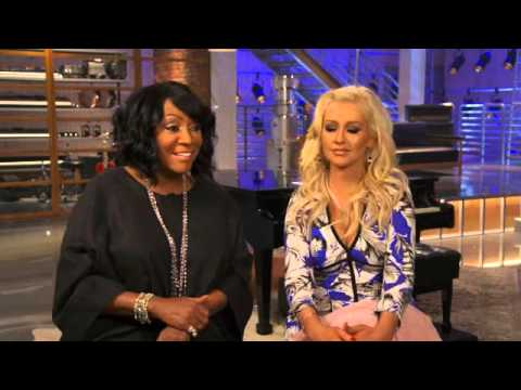 "THE VOICE: ""Blinds End And Battles Begin""  The Voice Mentors - Christina And Patti LaBelle"