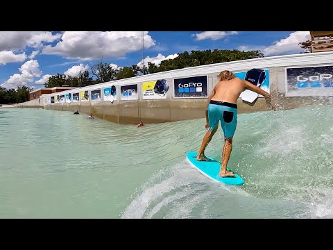 A Playground for Surfing: The Best Wavepool in Texas! Surfing with Sky Brown and Ocean Brown