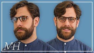 Men's Medium Length Haircut and Hairstyle Tutorial   Naturally Wavy
