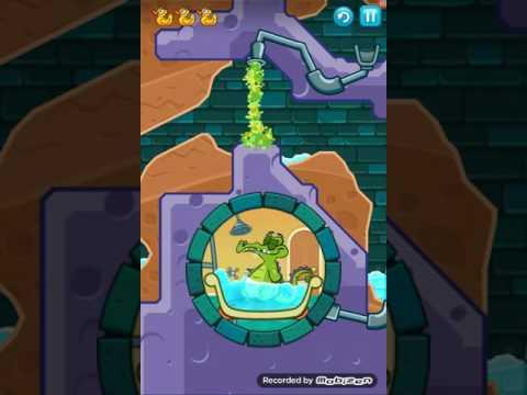 Крокодильчик СВОМПИ 2! Серия 13! КТО ПЛЮНУЛ В КОЛОДЕЦ! Игры Apple iPhone! Swampy!