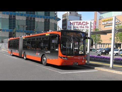 路線バス 新潟交通 BRT 新潟駅前→青山 4K版