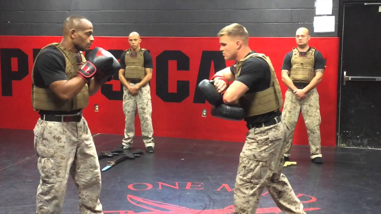 Marine Corps Martial Arts Center of Excellence - YouTube