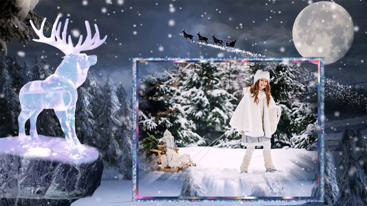 diaporama pour noel 2018 Féerie d'hiver »   modèles de diaporama pour un Noël magique   YouTube diaporama pour noel 2018