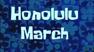 SpongeBob Production Music Honolulu March (Hans Haider version)