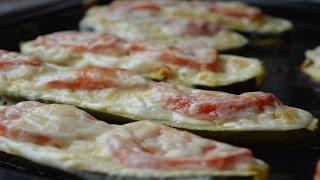 Stuffed Baked Zucchini Recipe - Zapekana Cuketa