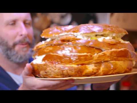 Travel Channel: Ember és étel - magyar verzió óriási méretű étkekkel