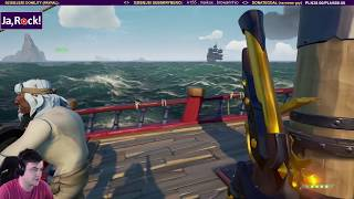 EPICKA ZADYMA na środku morza - Sea of Thieves / 09.01.2019 (#5)