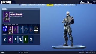 MY SUBSCRIBER GAVE ME HIS SKULL TROOPER ACCOUNT! Fortnite Battle Royale! #SoaRRC
