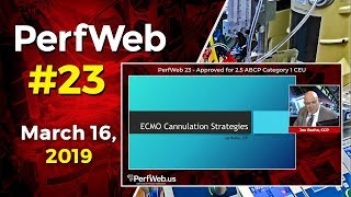PerfWeb 23 ECMO cannulation strategies