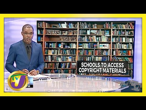 Jamaican Schools to Access Copyright Material   TVJ News