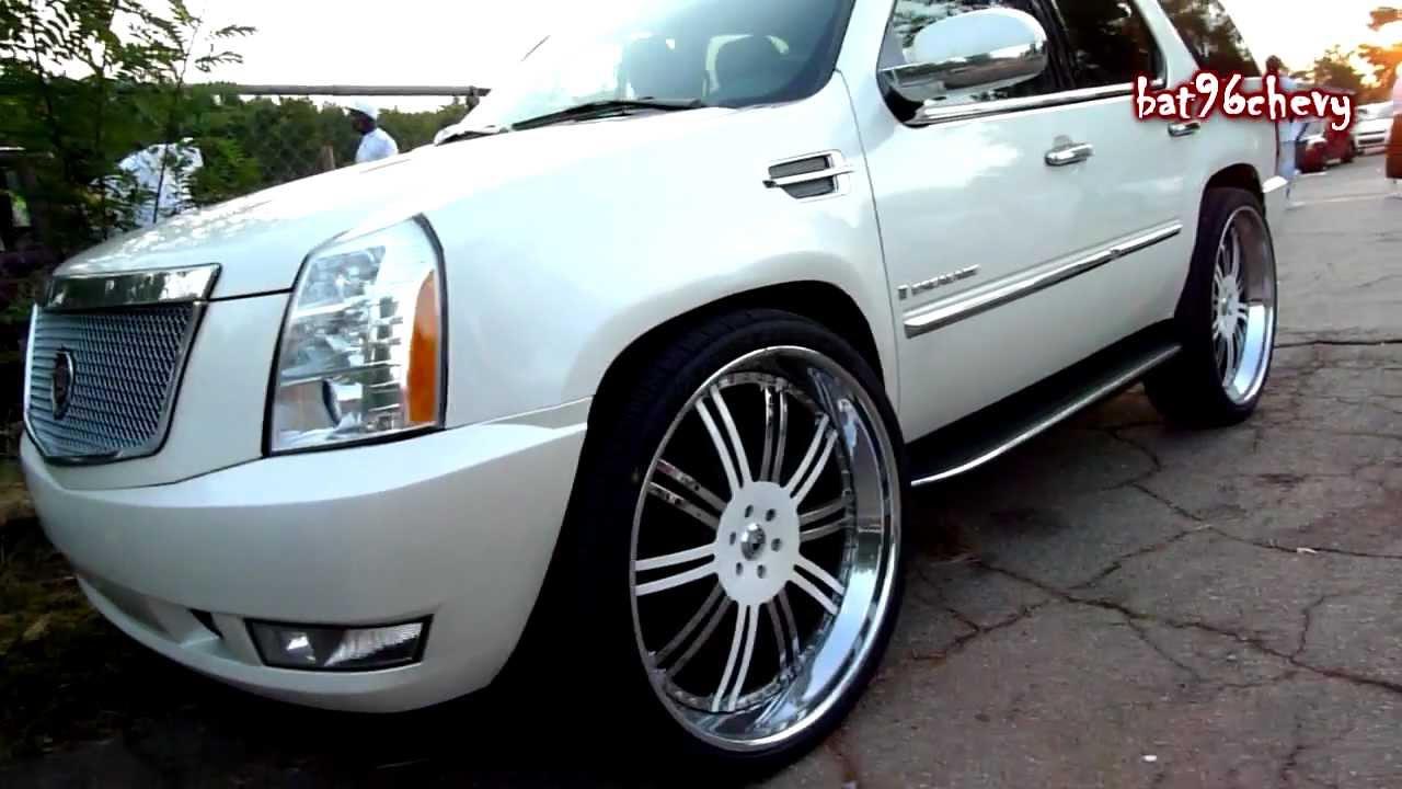 2010 Cadillac Escalade On 30 Quot Asantis Hd Youtube
