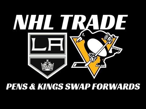 NHL Trade - Pens & Kings Swap Players