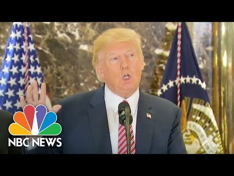 Trump's Full, Heated Press Conference on Race and Violence in Charlottesville (Full) | NBC News