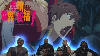 KONOSUBA MOVIE: LEGEND OF CRIMSON LIVE REACTION | YOU NEED TO WATCH THIS!!