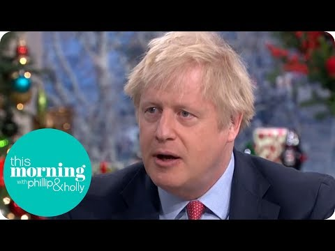 Boris Johnson Talks NHS, Working Class Men and UFOs | This Morning