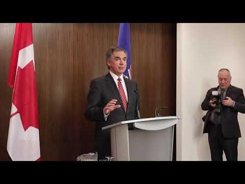 Premier Prentice on Alberta economy