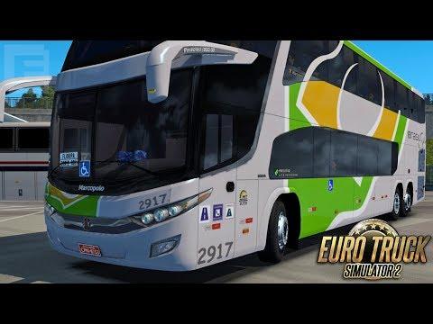 Euro Truck Simulator 2 - Bus | Brasil Sul - Maringá/Florianópolis - Mapa EAA