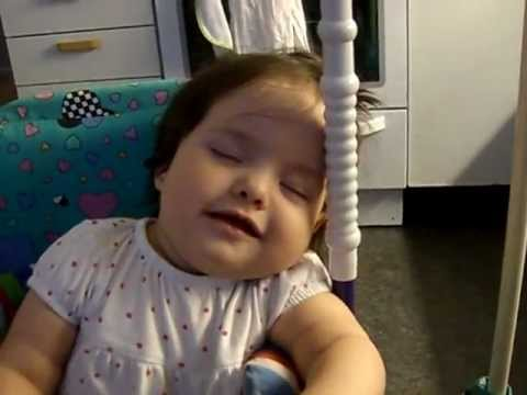 DADDY WONT LET BABY SLEEP!!! ==FUNNY!!=== - YouTube