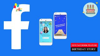 How To Use Birthday Stories |facebook Birthday Card | Facebook Stories | Facebook New Features