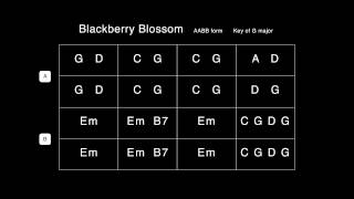 Blackberry Blossom Backing Track | 100 bpm | G major
