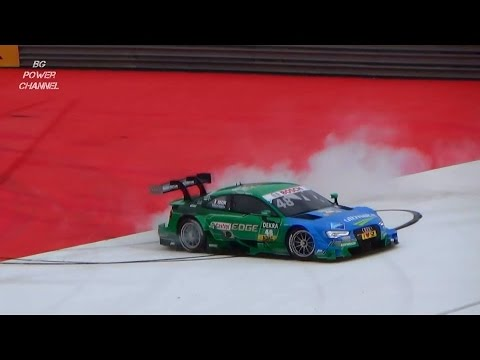 DTM Edoardo Mortara burnout 2015 Red Bull Ring Spielberg