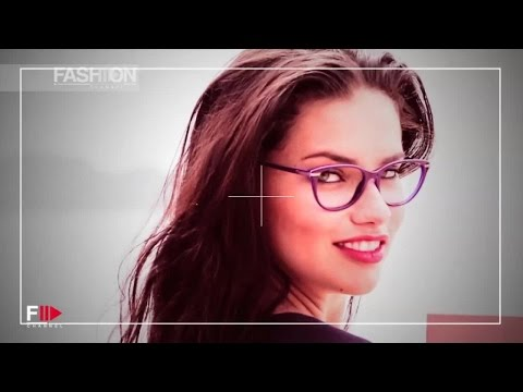 ADRIANA LIMA for Vogue Eyewear 2015 Backstage & Interview by Fashion Channel