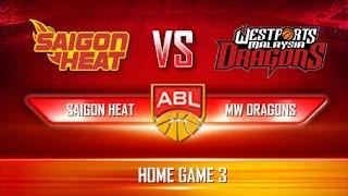 Giải Bóng Rổ ABL   Game 3   Saigon Heat vs Malaysia Westports Dragons (17.12.16)