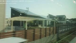 【側面展望】JR九州 日豊本線 普通 新田原行 行橋~新田原 813系1100番台(RM1111)
