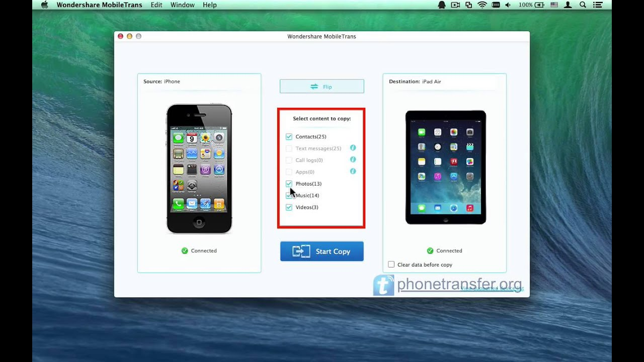 sync iphone and mac iphone to air transfer for mac how to sync all data 16220