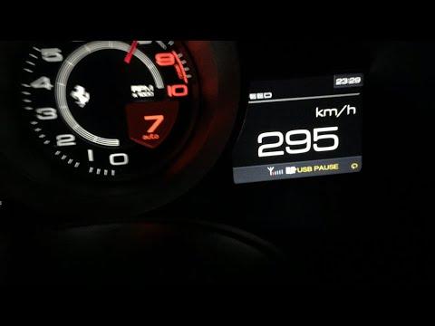 Ferrari 458 Speciale A 0-295 Km/h