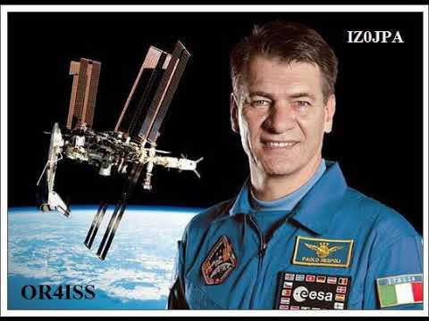13ago2017 Iz0JPA to ISS direct contact to Italy to TEST radio !