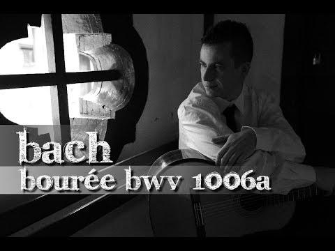 Bourée (BWV 1006a) by J.S. Bach