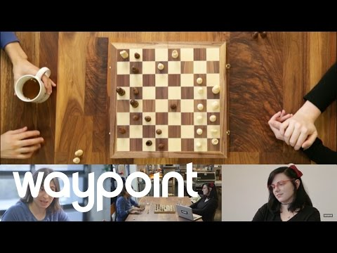 Danika and Danielle Play Chess - #waypoint72 Game 48