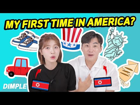 What North Koreans Shocked On First Visit To USA