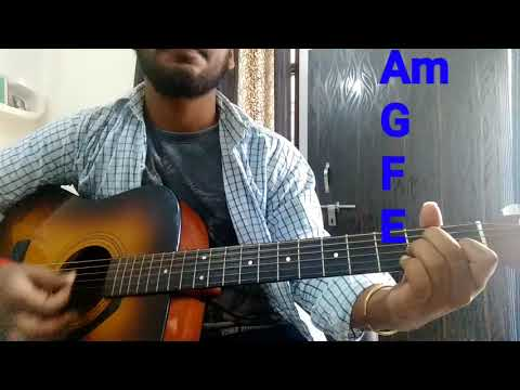 Tera Zikr - |Darshan Raval| Complete Open Chord Guitar Lesson In Hindi