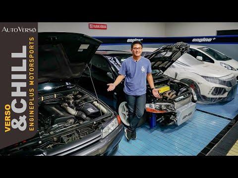 Bengkel Engine+ Sunter, Salah Satu Pakarnya Mobil-Mobil JDM di Indonesia! | #GarageTour
