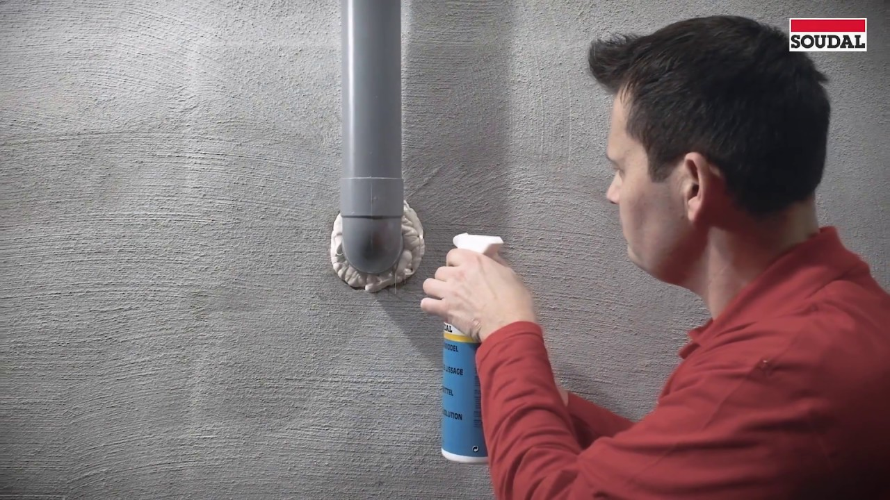 Watertight Pipe Penetration Sealing With Soudal Aquaswell