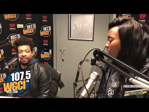 The WGCI Morning Show - DeRay Davis Stopped By The Morning Show To Talk About His Comedy Show!