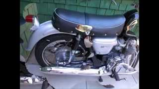 Honda CB450 Black Bomber Restored Motorcycle from 1967