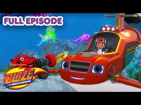 Blaze and the Monster Machines 🚗🔥 FULL EPISODE: Sea Grand Prix